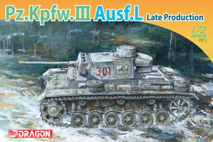 1/72 Pz.Kpfw.III Ausf.L Late Production