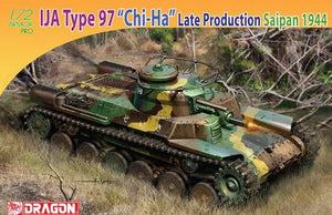 "1/72 IJA Type 97 ""Chi-Ha"" Late Production, Saipan 1944"