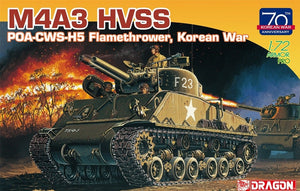 1/72  M4A3 HVSS POA-CWS-H5 Flamethrower Korean War (70th Anniversary)