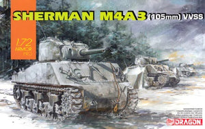 1/72 Sherman M4A3 (105mm) VVSS (Bonus Version)