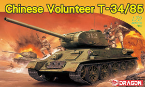 1/72 Chinese Volunteer T-34/85
