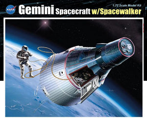 1/72 Gemini Spacecraft w/Spacewalke