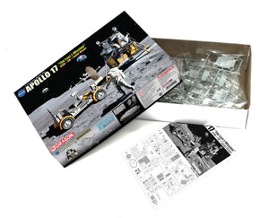 "1/72 Apollo 17 ""The Last J-Mission"" CSM + LM + Lunar Rover"