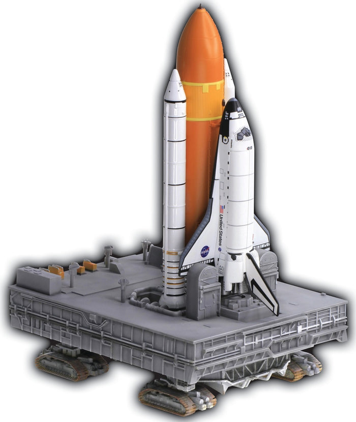 1/400 Space Shuttle w/Crawler-Transporter (Unassembled Model Kit)