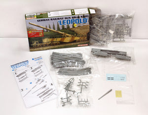 1/144  GERMAN RAILWAY GUN 28cm K5(E) 'LEOPOLD' (with bonus parts version)