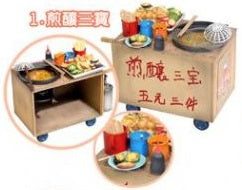 mimo miniature - Local Snack Series: Stuffed Treasures Cart 煎釀三寶
