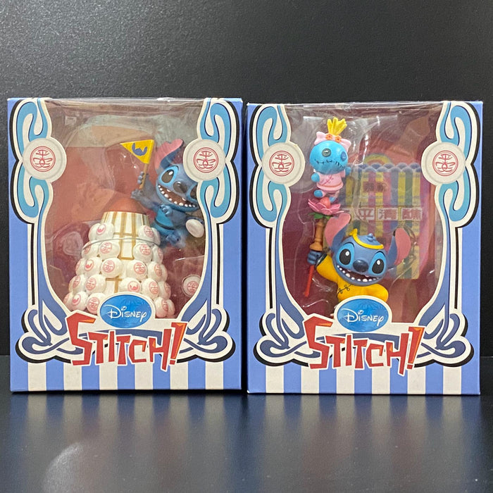 Disney Lilo & Stitch - Bun Festival Series Playset (Full Set) Disney Lilo & Stitch - Bun Festival Series (Parade of Floats) Playset 太平清醮特別版 - 史迪仔 /甘仔飄色 + 搶包山