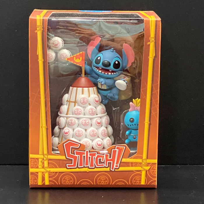 Disney Lilo & Stitch - Bun Festival Series Playset 太平清醮特別版 - 史迪仔 /甘仔 搶包山 (New Package)