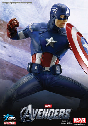 1/9 ACTION HERO VIGNETTE CAPTAIN AMERICA
