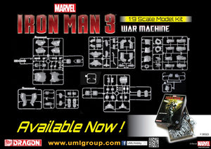 1/9 Iron Man 3 - War Machine (Model Kit)