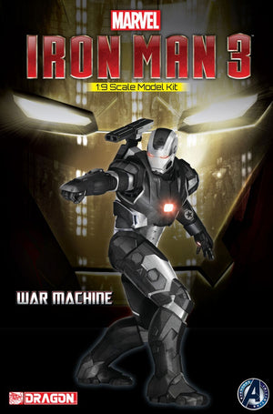 1/9 Iron Man 3 - War Machine (Unpainted Model Kit)