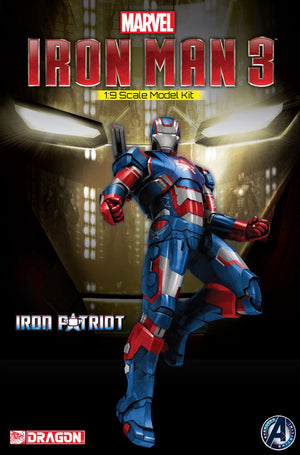 1/9 Iron Man 3 - Iron Patriot (Model Kit)