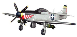 "1/72 P-51D Mustang ""Shark's Mouth"", 12th FS, 18th FG, Korean War"