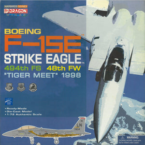 "1/72 F-15E Strike Eagle, 494th FS, 48th FW, ""Tiger Meet"" 1998"