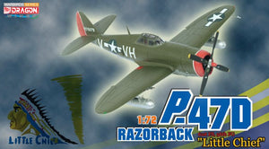 "1/72 P-47D Razorback ""Little Chief"", 61st FS, 56th FG"