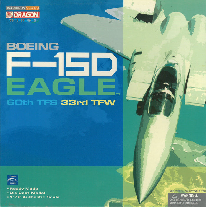 1/72 F-15D Eagle, 60th TFS, 33th TFW