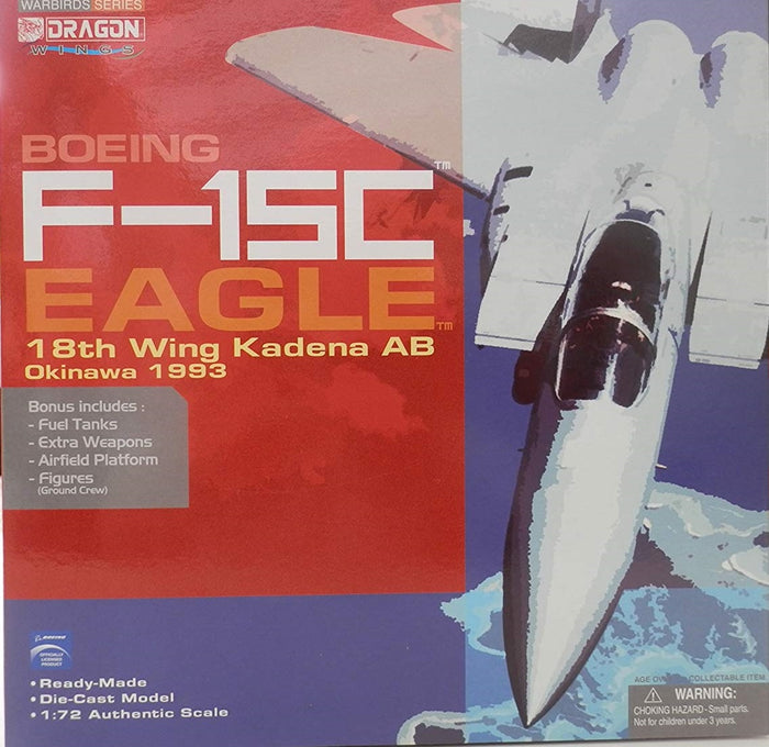 1/72 F-15C Eagle, 18th Wing Kadena AB, Okinawa 1993