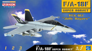 "1/72 F/A-18F Super Hornet, VFA-103 ""Jolly Rogers"""