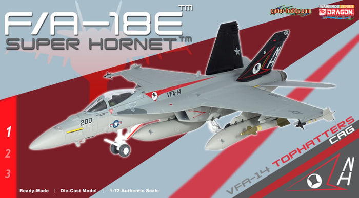 1/72 F/A-18E SUPER HORNET VFA-14 TOPHATTERS CAG