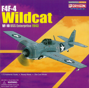 1/72 F4F-4 Wildcat, VF-10, USS Enterprise, 1943