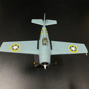 "1/72 F4F-4 Wildcat ""Black 9-F-1"", VF-9 ""Cat o' Nines"", USS Ranger, Operation Torch 1942"