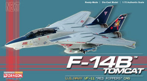 "1/72 F-14B Tomcat, U.S. Navy, VF-11 ""Red Rippers"" CAG"
