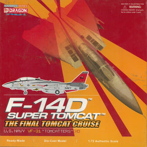 "1/72 F-14D Super Tomcat, U.S. Navy VF-31 ""Tomcatters"", The Final Tomcat Cruise"