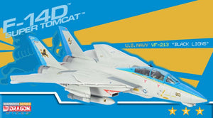 "1/72 F-14D Super Tomcat, U.S. Navy VF-213 ""Black Lions"""