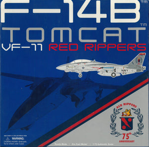 "1/72 F-14B Tomcat, VF-11 ""Red Rippers"""