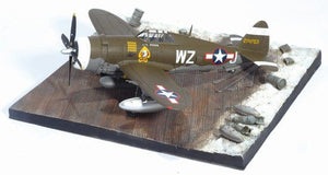 "1/72 P-47D Razorback ""Okie"", 84th FS, 78th FG + Airfield Base"