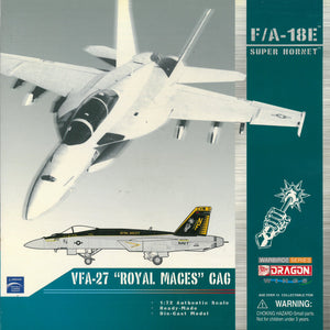 "1/72 F/A-18E Super Hornet, VFA-27 ""Royal Maces"" CAG"