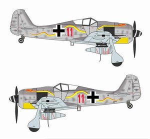 "1/72 Fw190A-8/R2 ""Red 11"", JG 300, Germany 1944"