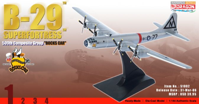 "1/144 B-29 Superfortress ""Bocks Car"", 509th Composite Group"