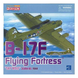 "1/144 B-17 Flying Fortress,""Sky Wolf"" 358th BS 1944"