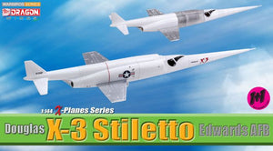 1/144 Douglas X-3 Stiletto, Edwards AFB