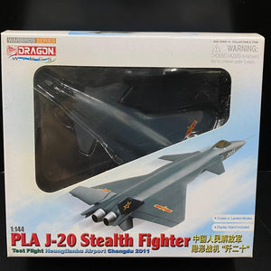 1/144 PLA J-20 Stealth Fighter, Test Flight, Heungtianba Airport, Chengdu 2011