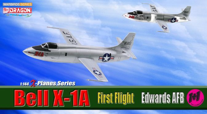 1/144 Bell X-1A, First Flight, Edwards AFB