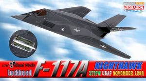 1/144 Lockheed F-117A Nighthawk, 37TFW USAF, November 1988