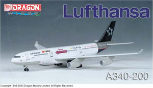 "1/400 A340-200 Lufthansa ""Star Alliance"""