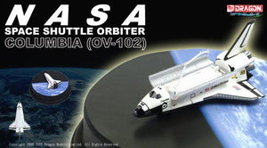 "1/400 Space Shuttle Orbiter ""Columbia"" with Shuttle Bay Doors and Diorama Base"