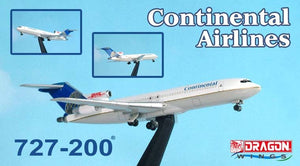 1/400 727-200 Continental Airlines