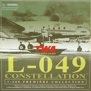 1/400 L-049 Constellation - Trans World Airline(TWA)