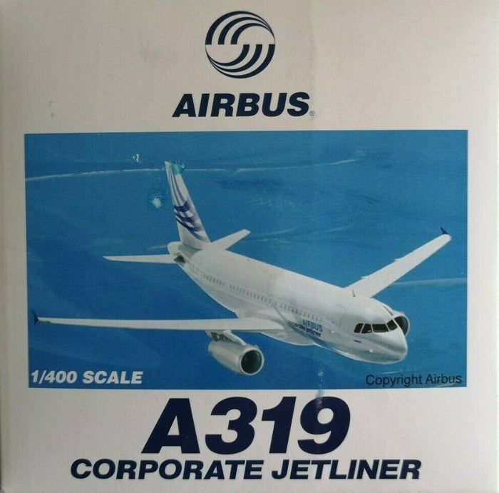 1/400 AIRBUS A319 CORPORATE JETLINER