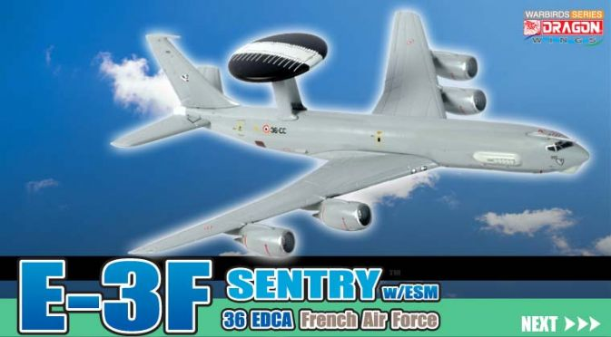 1/400 E-3F Sentry w/ESM, 36EDCA, French Air Force