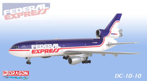 1/400 747-200F & DC-10-10 Federal Express (Double Pack)