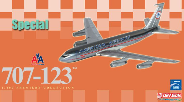 1/400 707-123 American Airlines ~ N7591A (Vintage Livery)