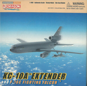 1/400 KC-10A Extender w/ F-16C Fighting Falcon