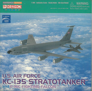 1/400 U.S. Air Force KC-135 Stratotanker w/ F-16C Fighting Falcon