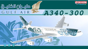 1/400 A340-300 Gulf Air (50th Anniversary Livery) - A40-LD
