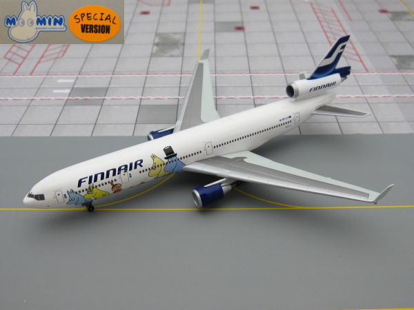 "1/400 MD-11 FINNAIR, ""Moomin Express""Colors. SPECIAL VERSION"